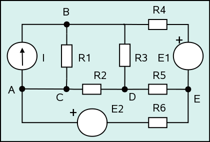 Figura 1: Circuito ejemplo.