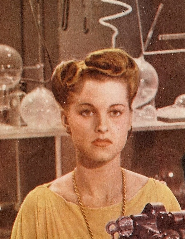 File:Ellen Hall from Voodoo Man lobby card 1944 (cropped