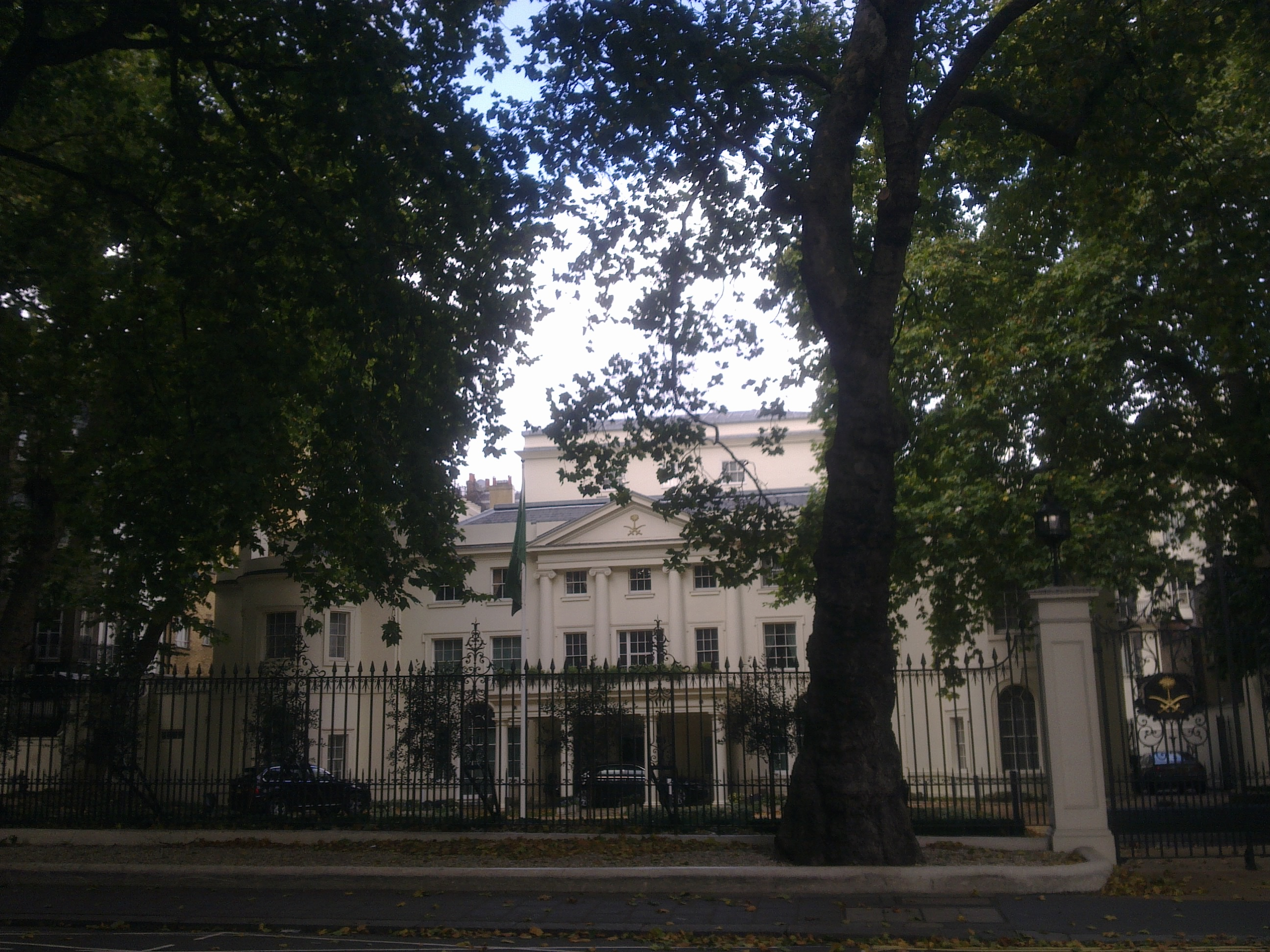 Embassy of saudi arabia london wikiwand for Consul high availability