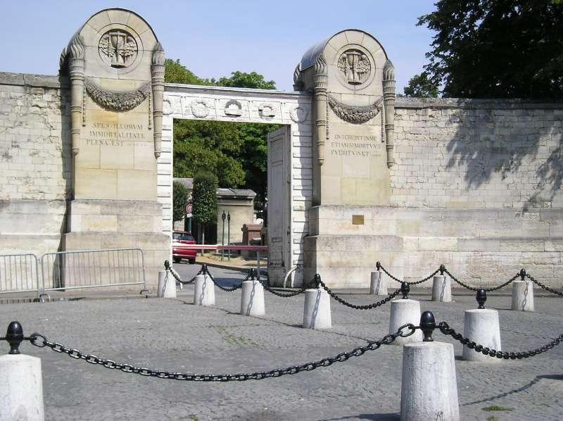 Súbor:Entrée cimetière p lachaise.jpg