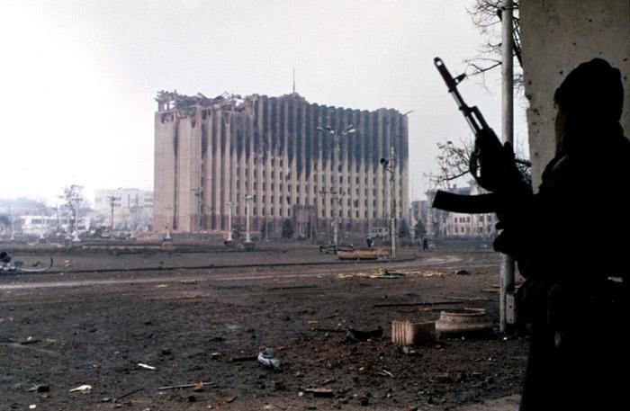 Groznyj po vojne v 90. tych rokoch