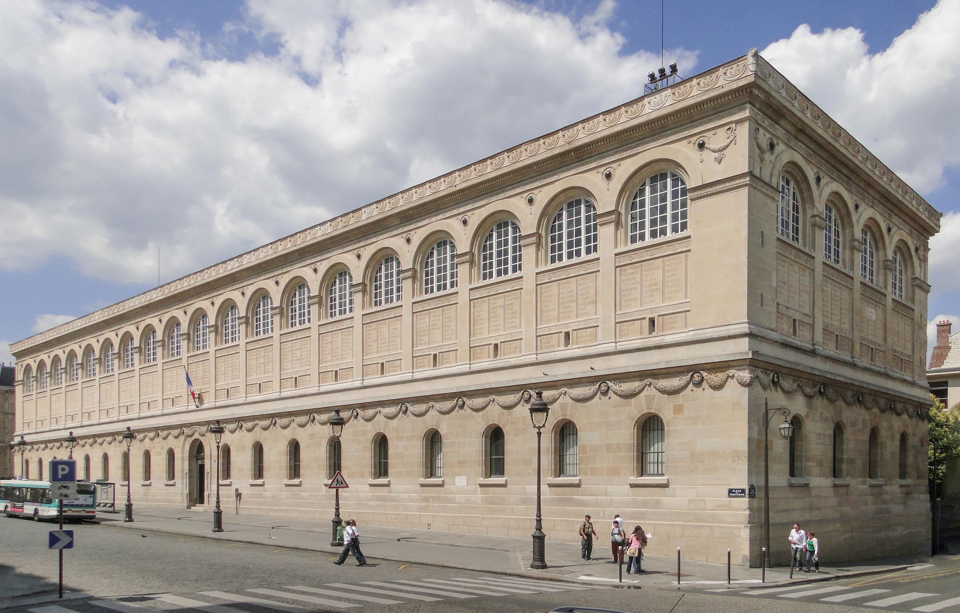 Façade de la Bibliothèque Sainte-Geneviève, sud-est.JPG