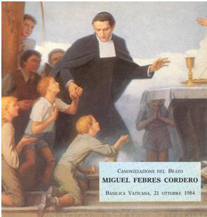 Miguel Febres Cordero 19th-century Ecuadorian Catholic religious, educator, and saint