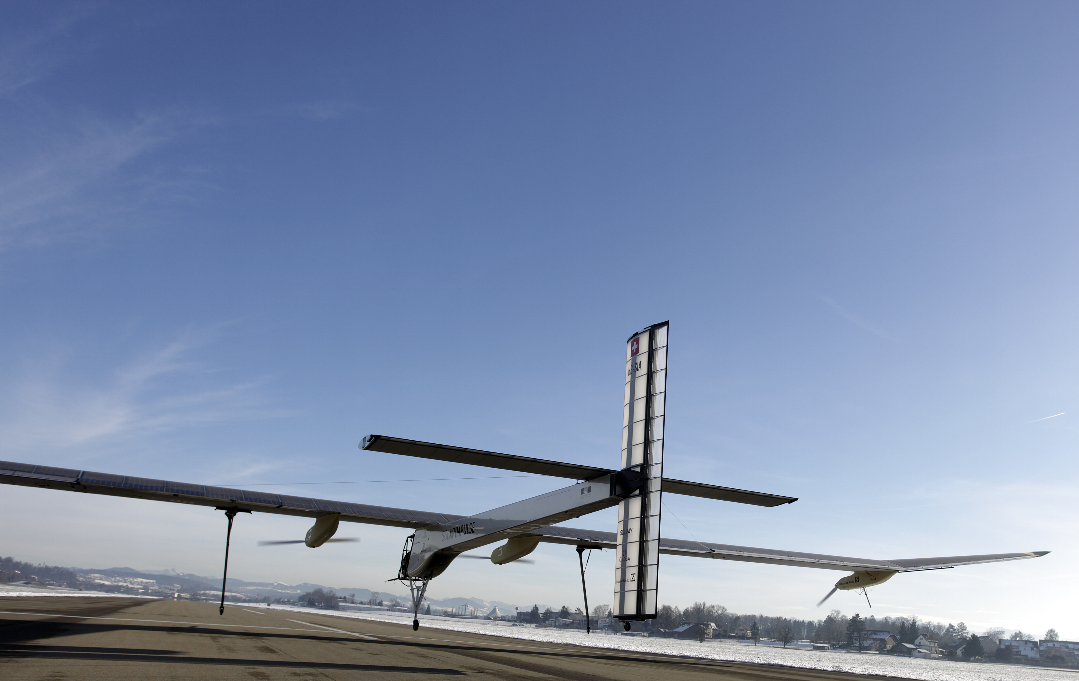 SolarImpulse, the solar-powered plane
