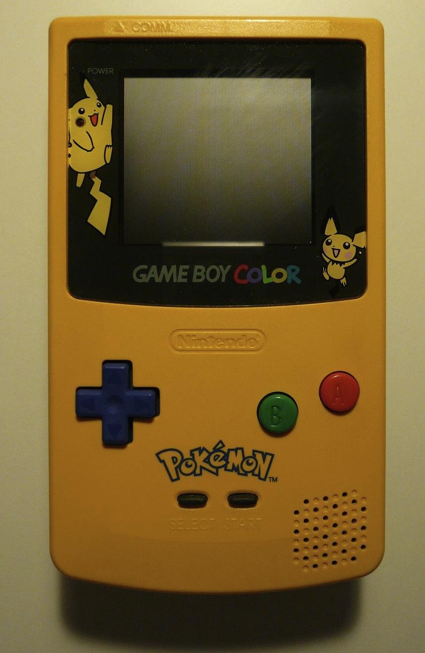 Game boy color usato - File Game Boy Color Pikachu Jpg