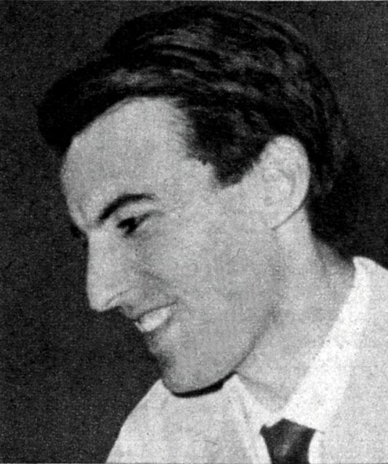 Giorgio Caslini en 1957[http://www.ufficiostampa.rai.it/radiocorrierecanali.aspx]