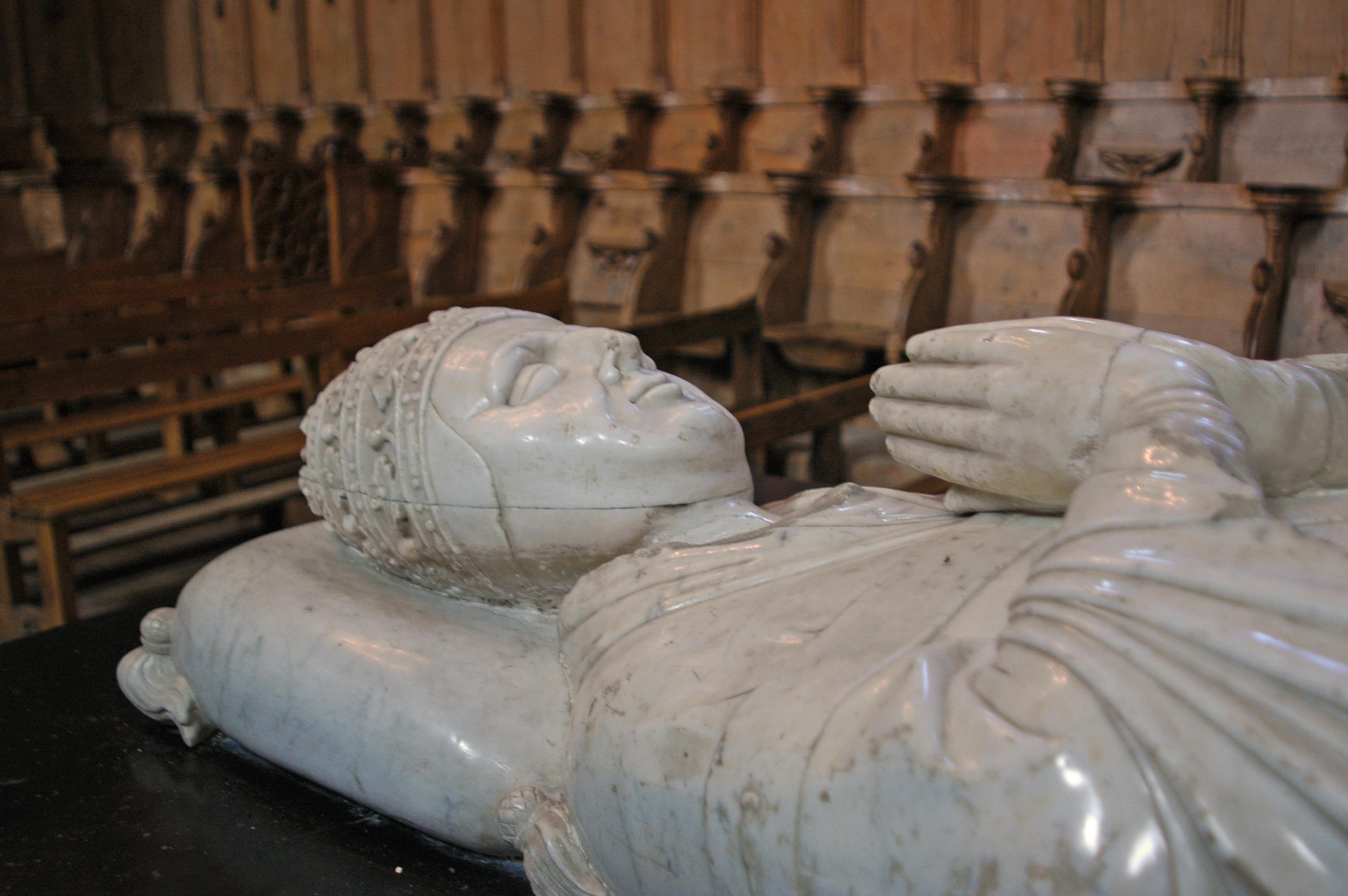 File gisant du pape cl ment vi dans l 39 abbatiale de la chaise w - Technique de la chaise ...