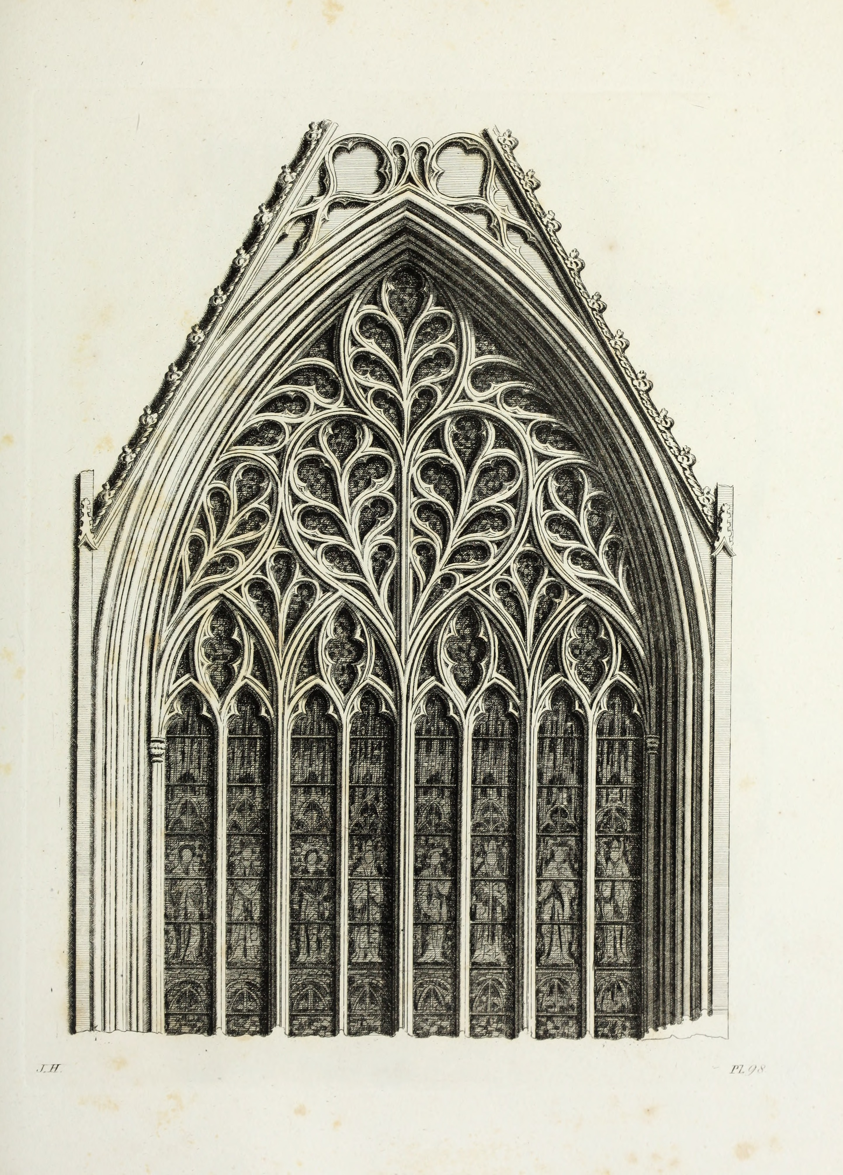 FileGothic Ornaments In The Cathedral Church Of York 1795 14783189175