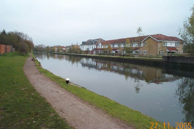 Grand Union Canal, near Croxley Common Lock - geograph.org.uk - 84443