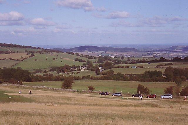 Grassland, Cleeve Hill - geograph.org.uk - 567787