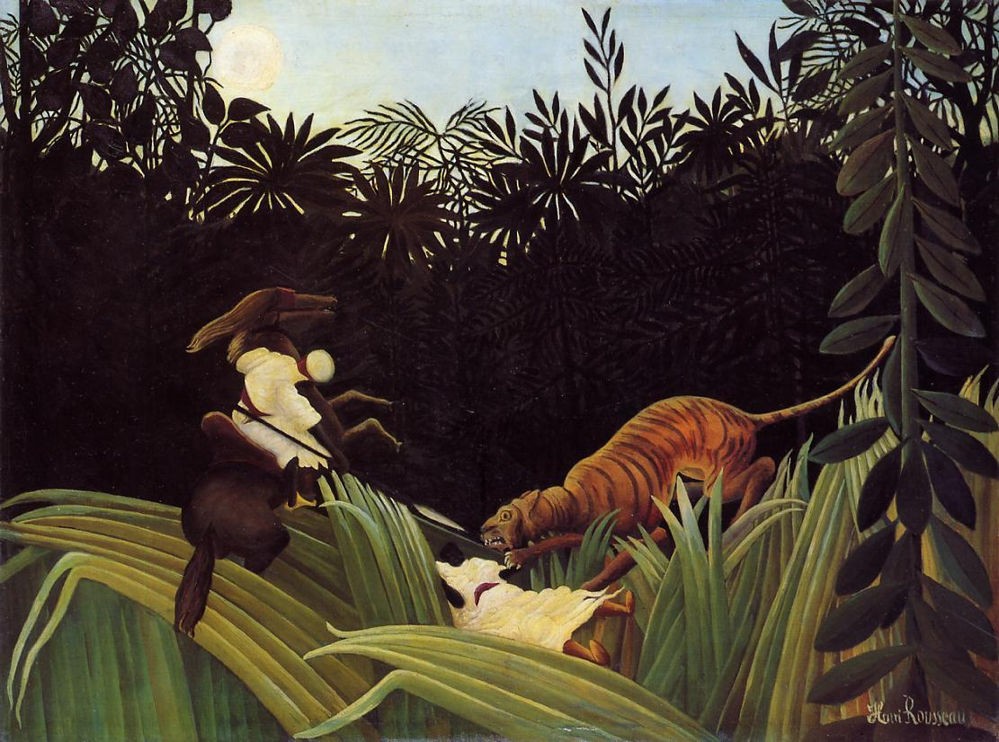 Image result for Henri Rousseau (1844)