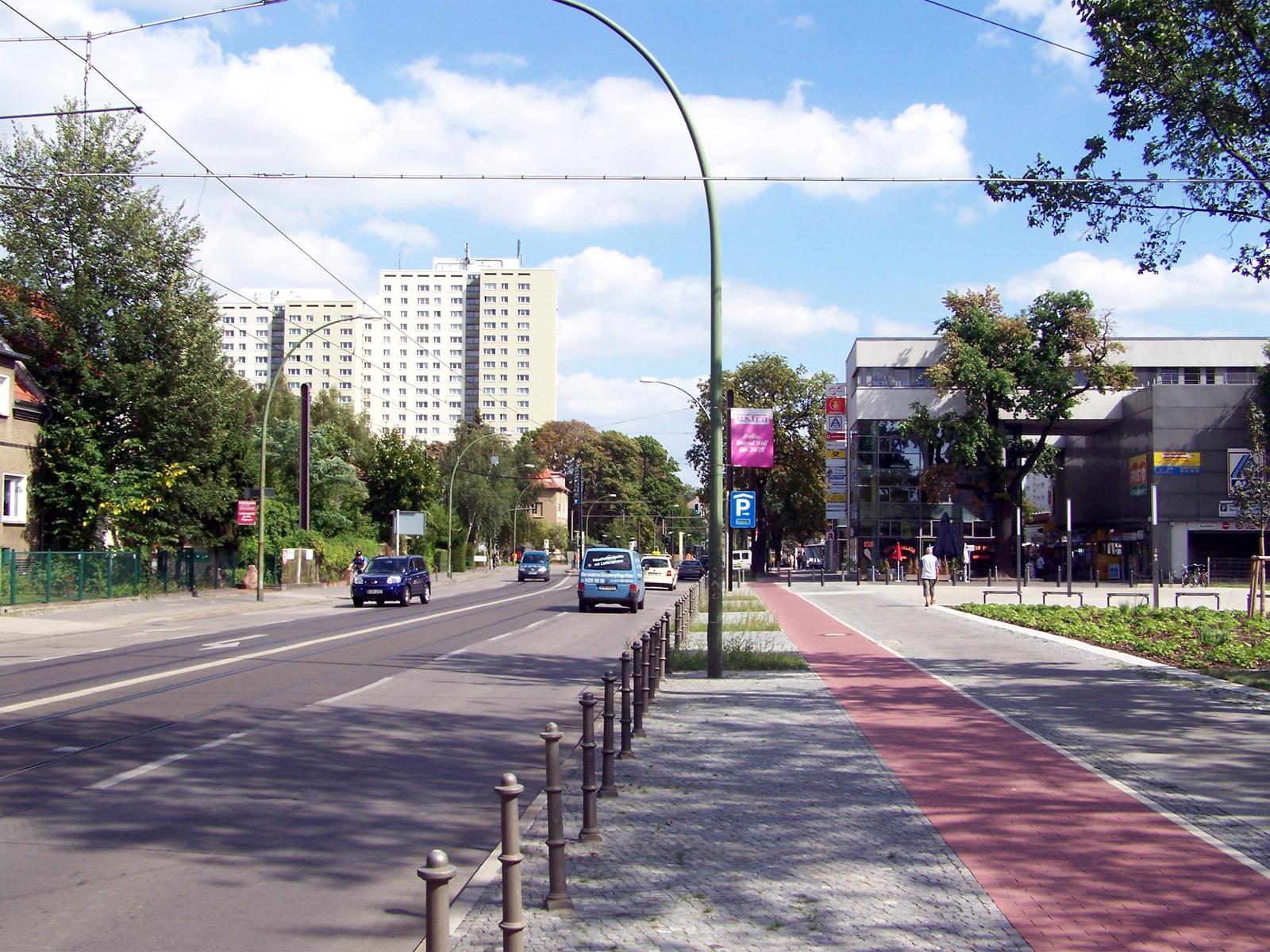 Hauptstra E Berlin Hohensch Nhausen Wikipedia