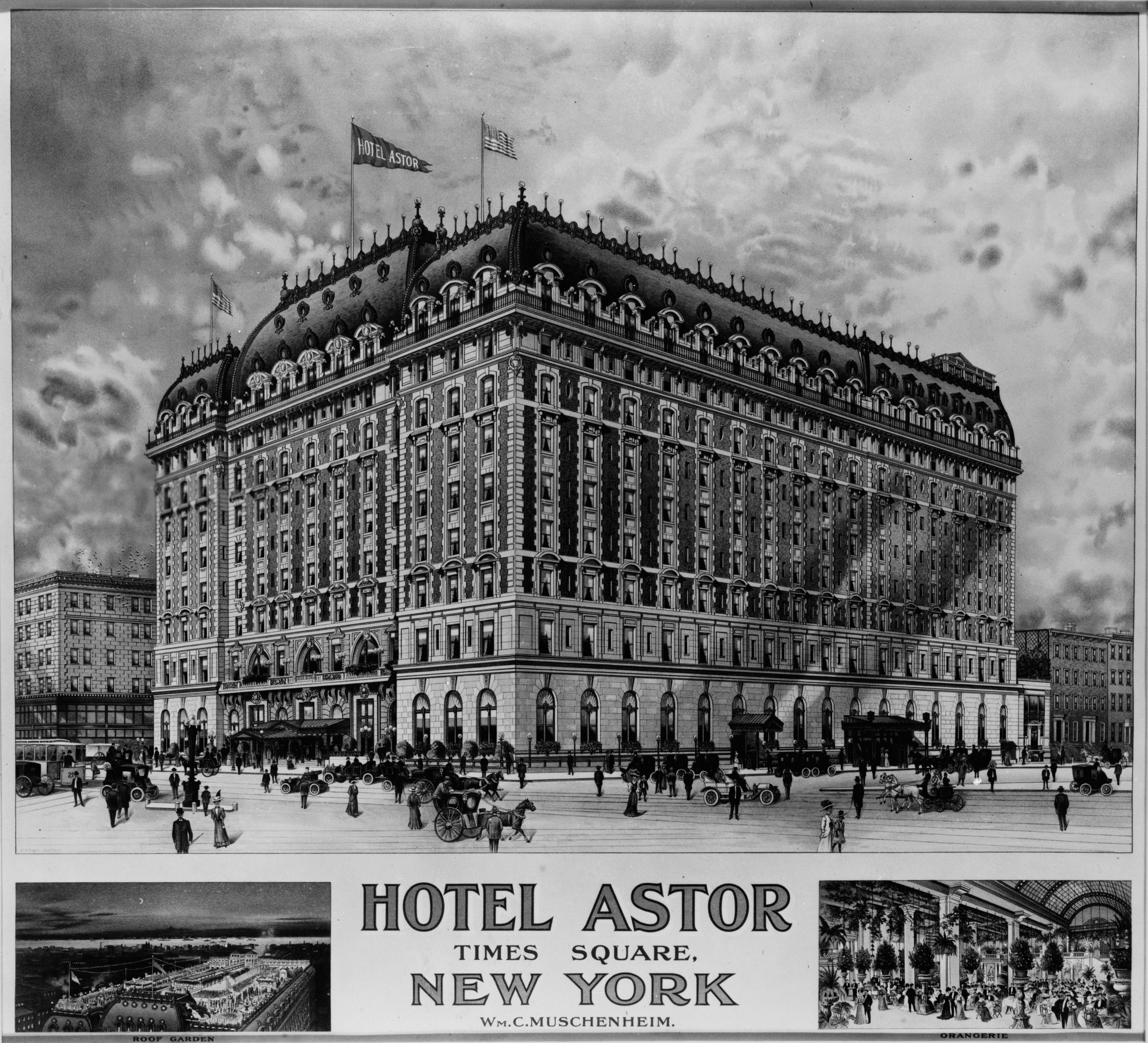18 And Older Hotels In New York: Hotel Astor (New York City)