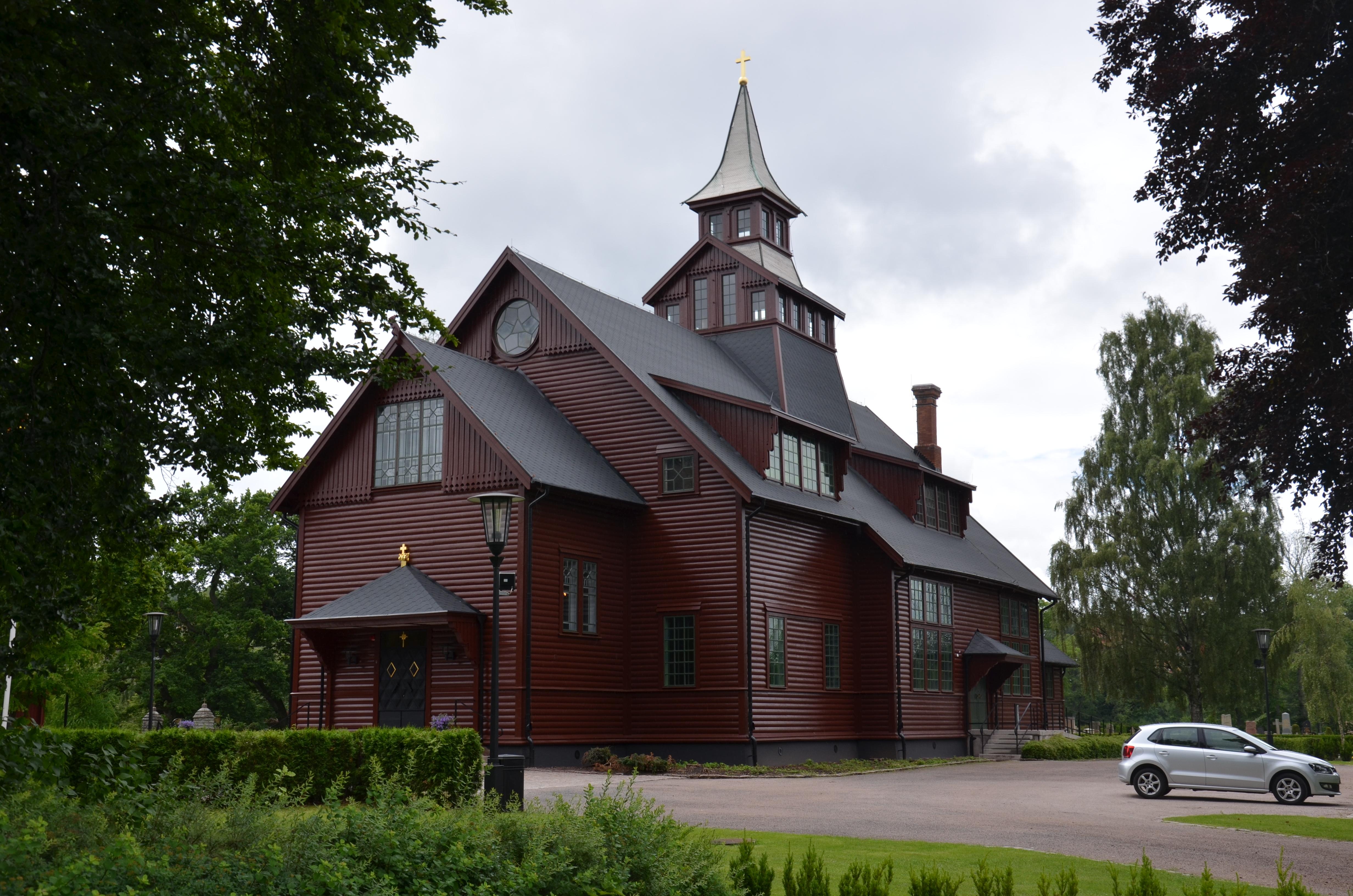 Bild av Huskvarna kyrka