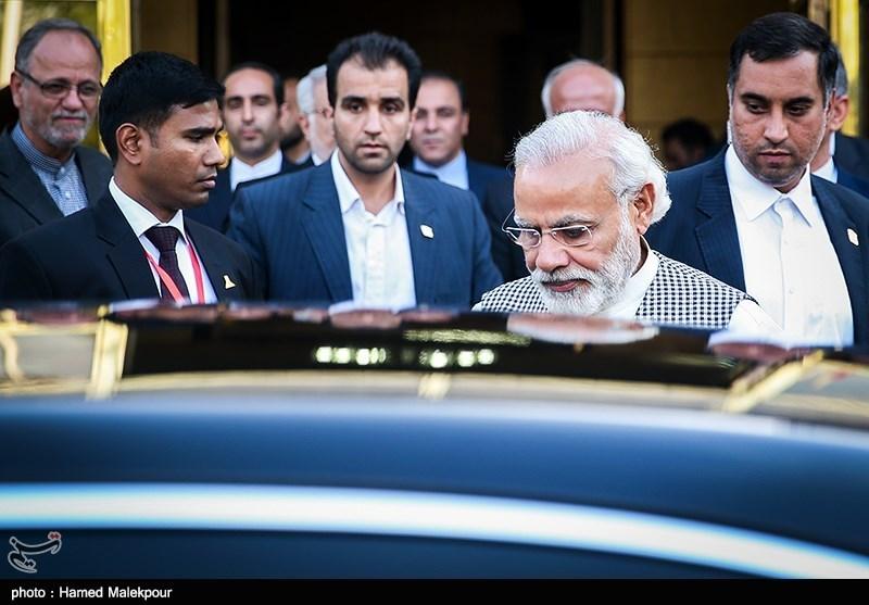 Modi in Tehran
