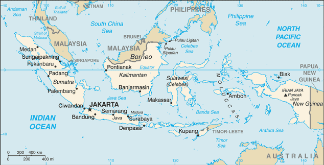 indonesia map wikipedia