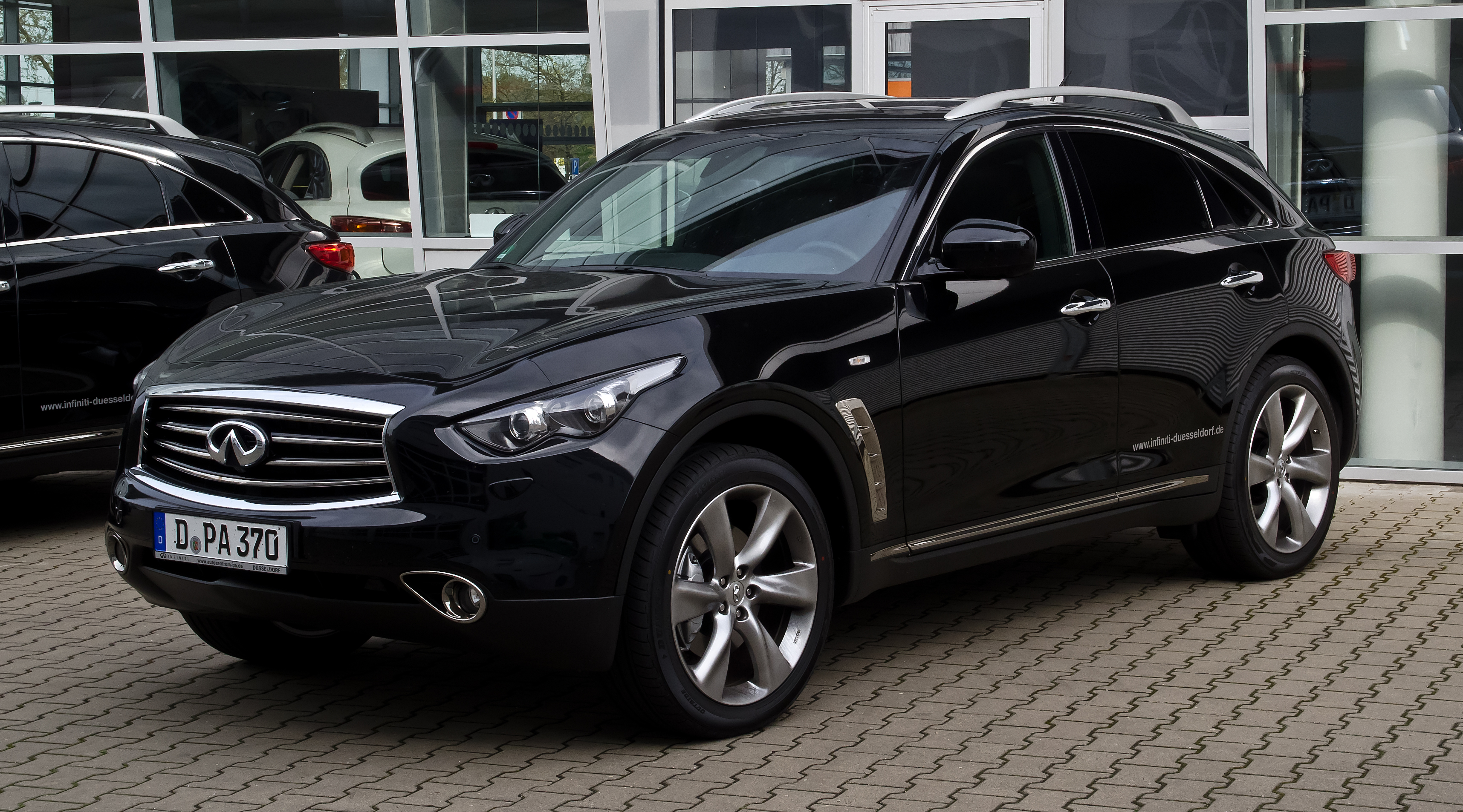 File Infiniti Fx50 S S51 Facelift Frontansicht 28 April