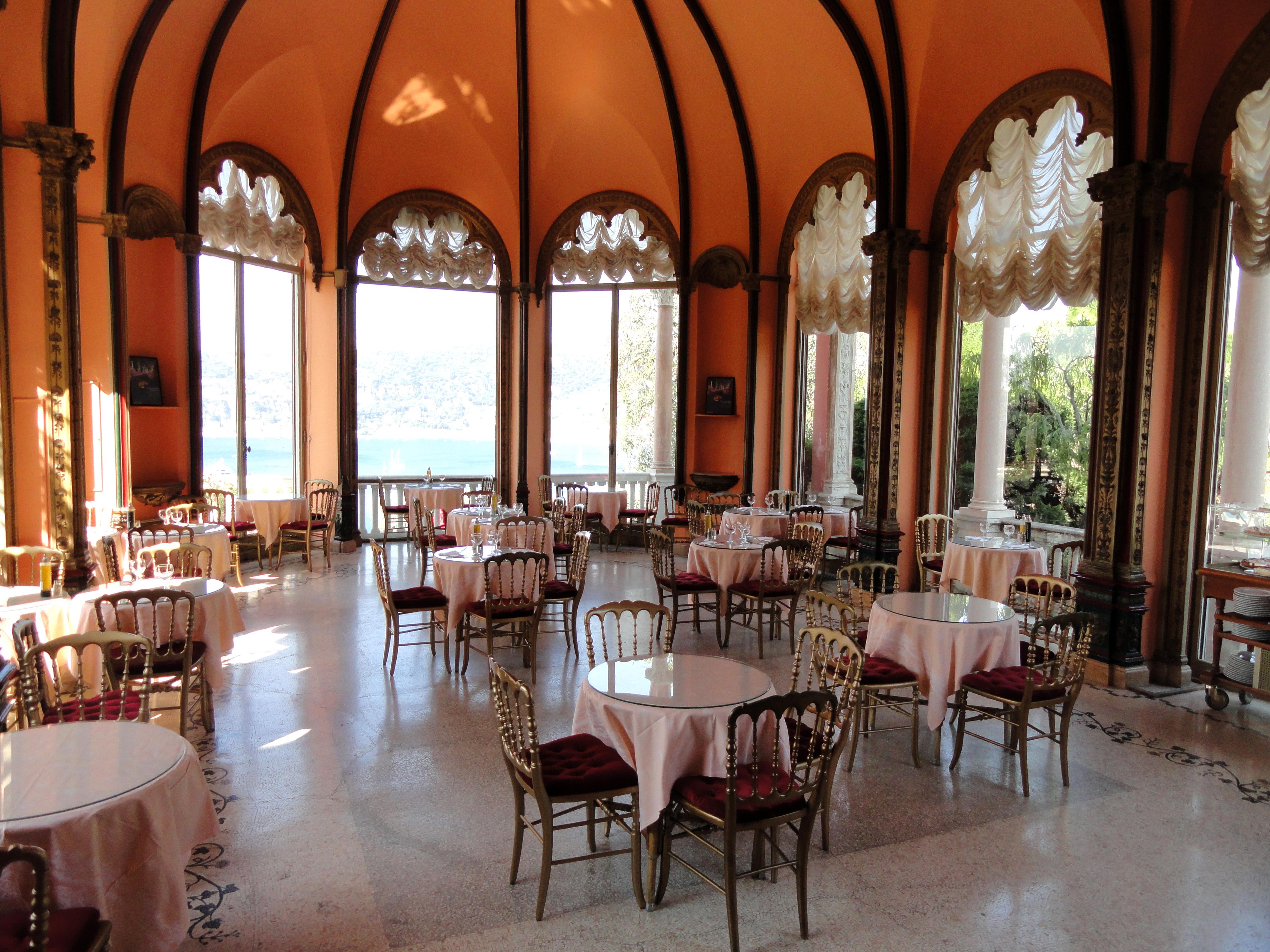 File interior of the villa ephrussi de rothschild for Restaurant le jardin du cap