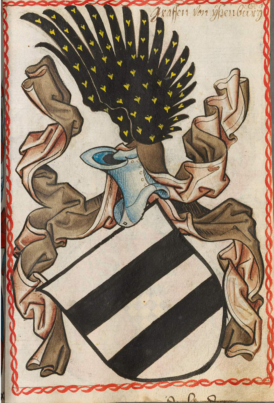 Coat of Arms of the House of Isenburg