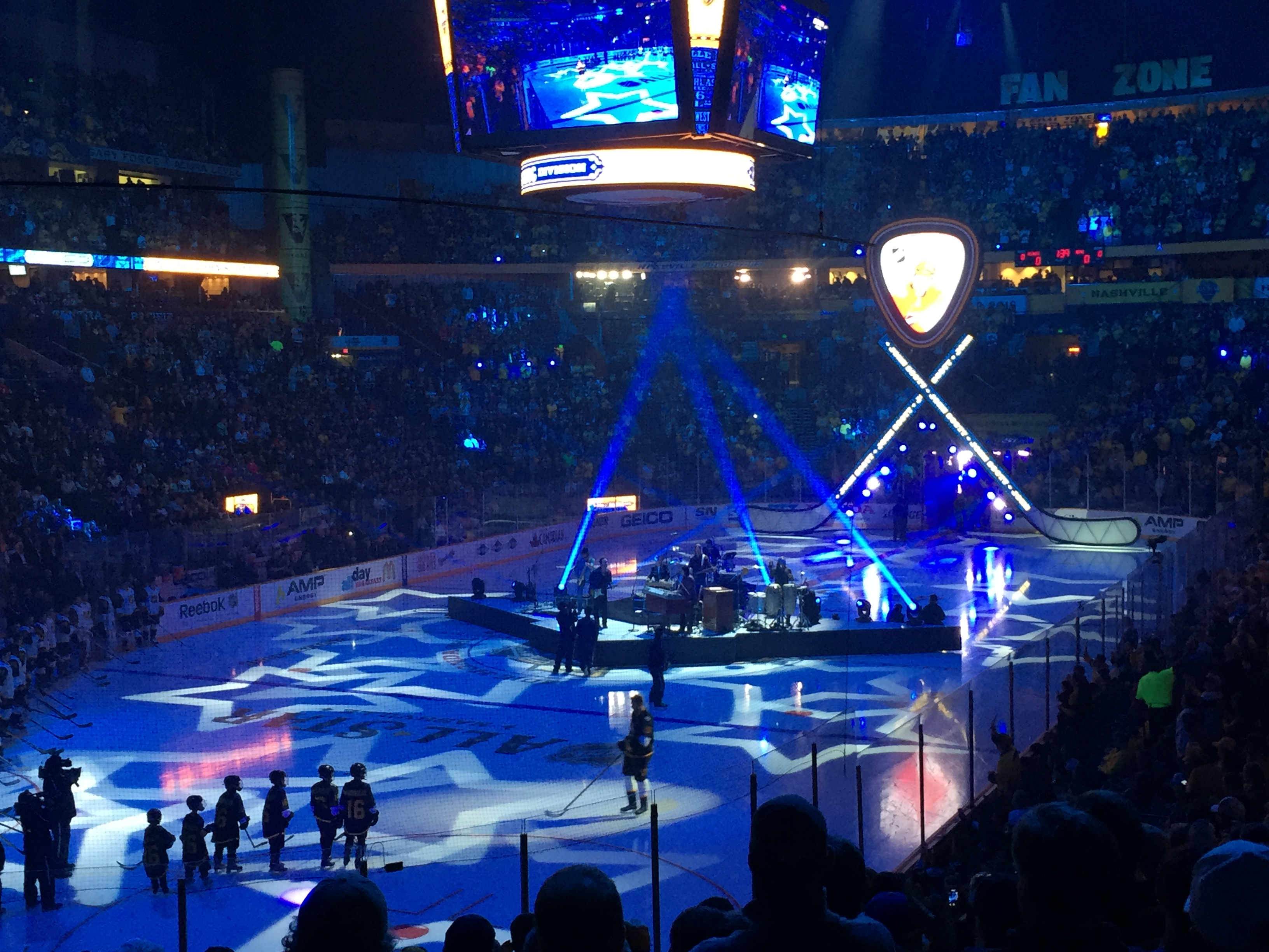 Scott s entrance at the 2016 NHL All-Star Game 1d96fed22