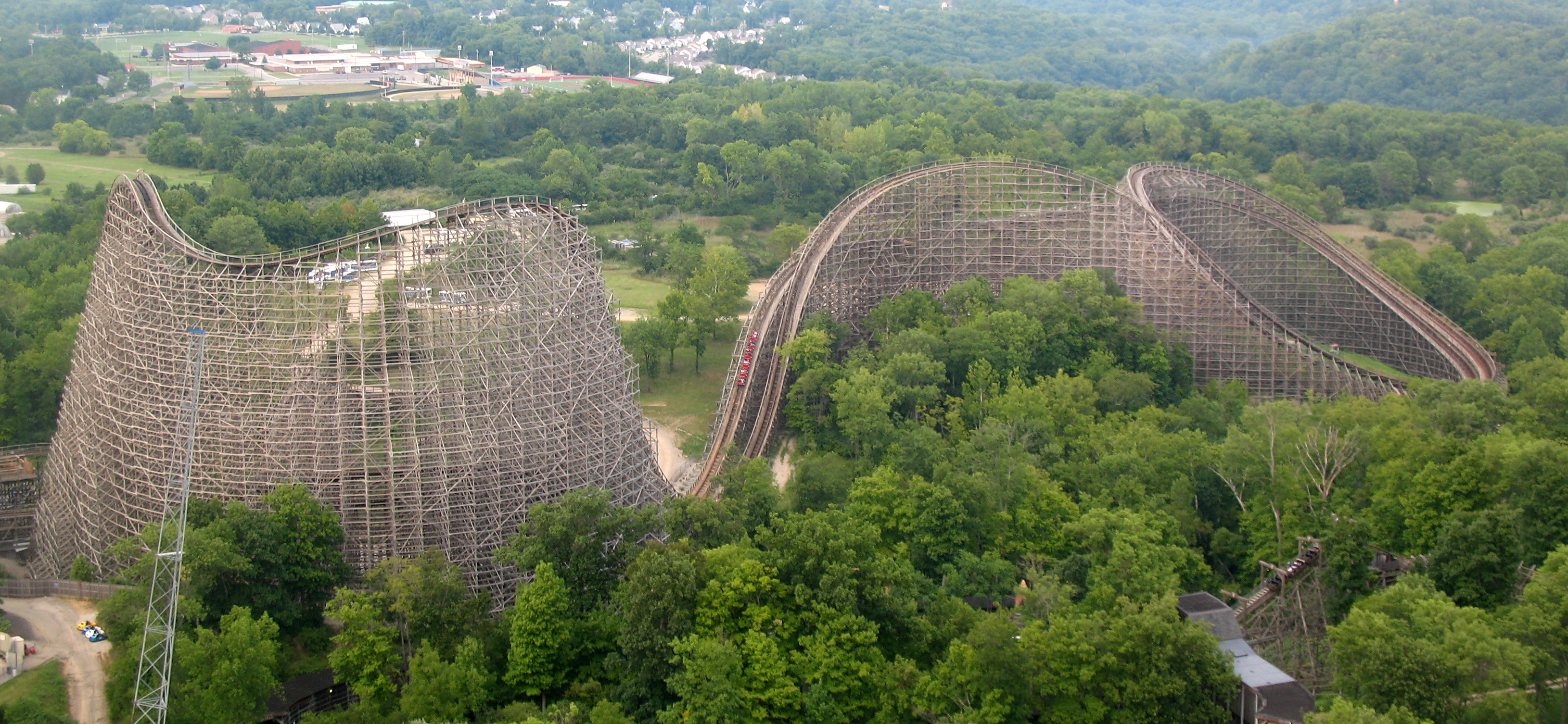 So The Worlds Tallest And Fastest Wooden Roller Coaster Got