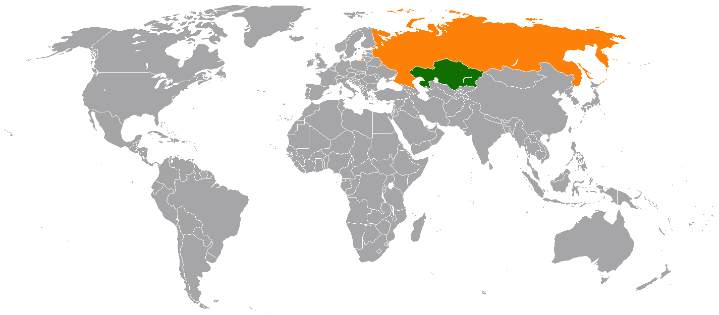 Kazakhstan Russia Map.Kazakhstan Russia Relations Wikipedia