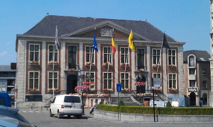 Cityhall of Diest, Vlaams-Brabant, Belgium.