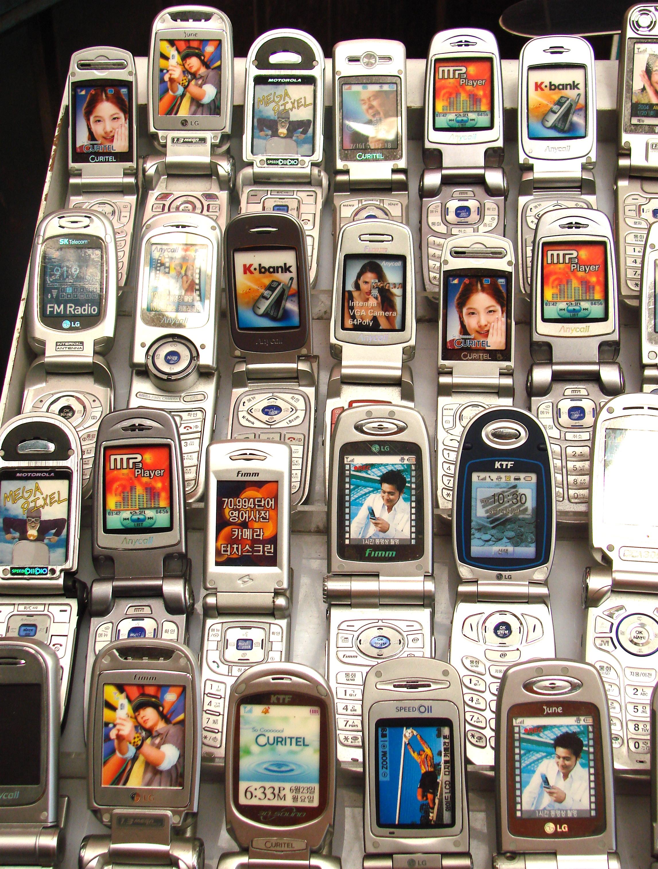 c5d8b4d124f4e Сотовый телефон — Википедия