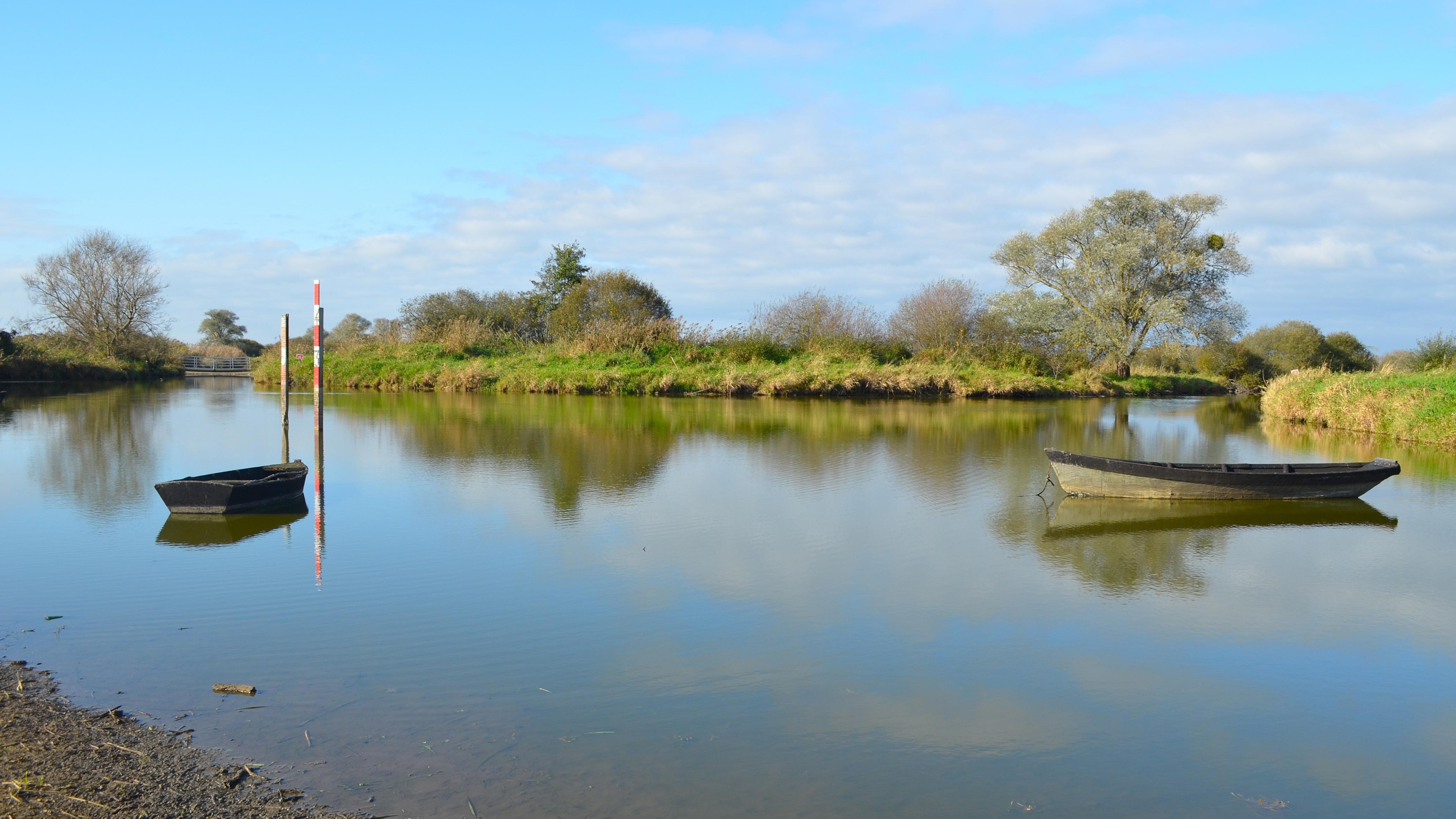 Lac de Grand-Lieu, site de Passay - La Chevrolière (Loire-Atlantique)