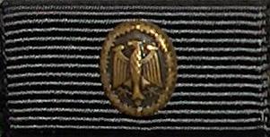 Leistungsabzeichen Reservisten Bundeswehr GOLD Stufe III  10 Wiederholung  Army