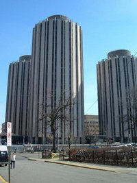 Litchfield Towers residence halls.