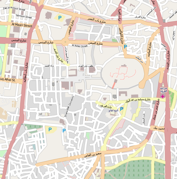 File:Location map Syria Ancient City of Aleppo.png ...