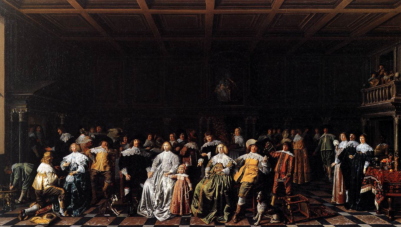 File:Marriage of Willem van Loon and Margaretha Bas 1637 JM Molenear.jpg