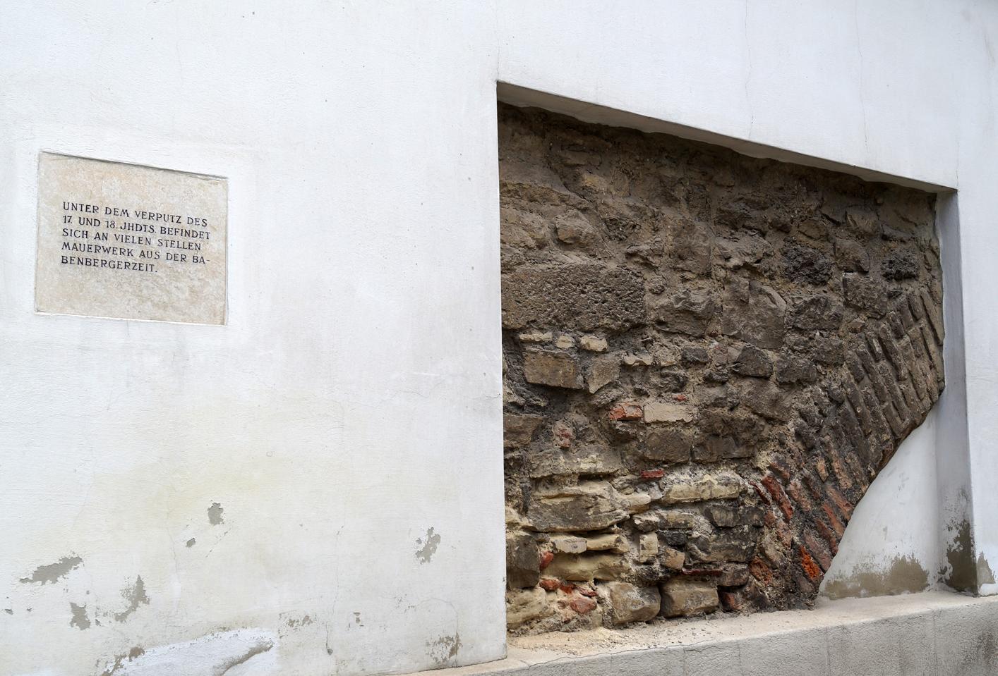 Mauerwerk Babenbergerzeit Heiligenkreuzerhfo Wien 1010.JPG