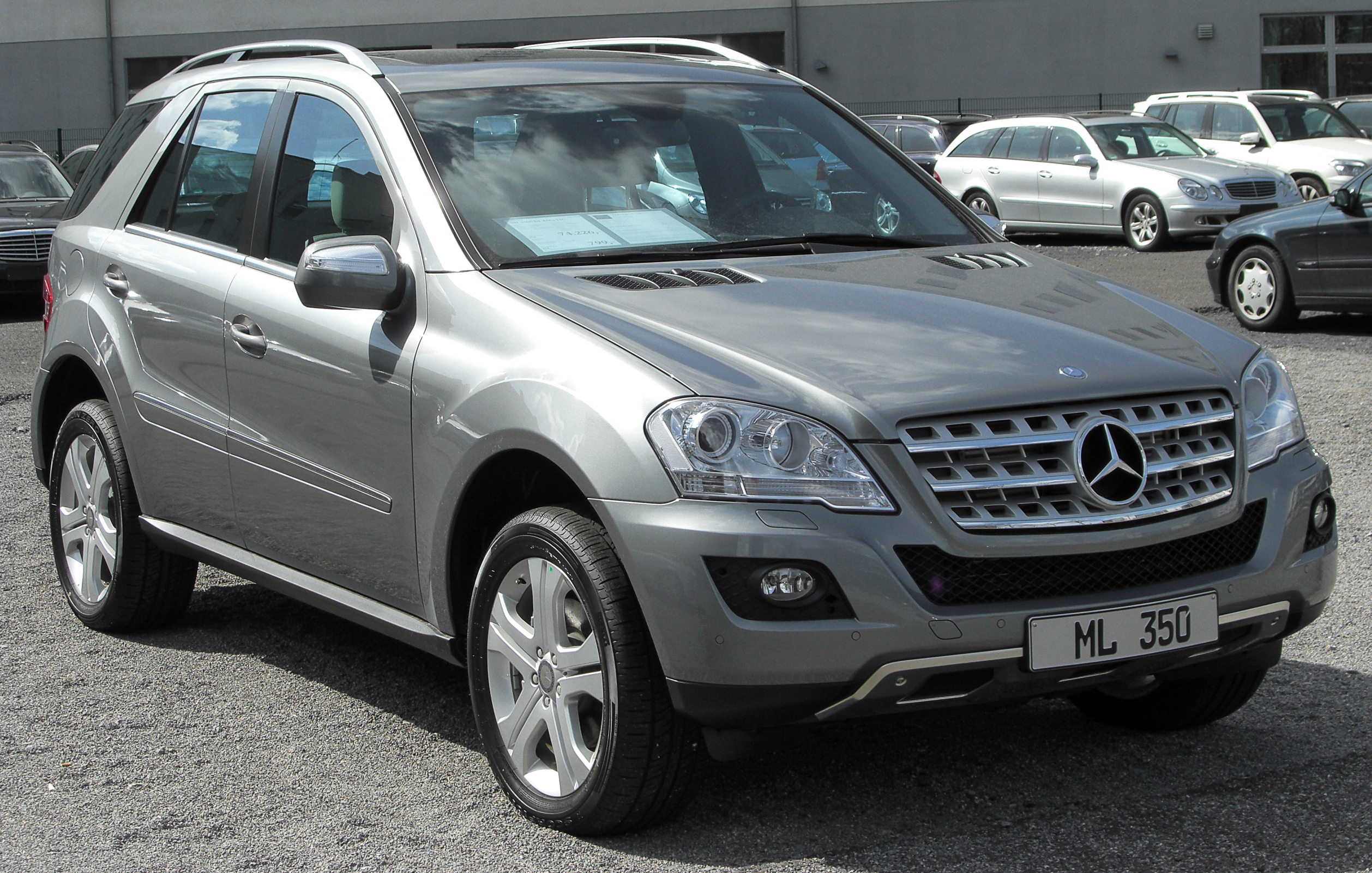 file mercedes ml 350 cdi 4matic w164 facelift front. Black Bedroom Furniture Sets. Home Design Ideas