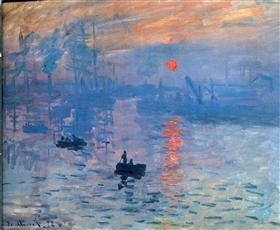 Monet - impression-sunrise