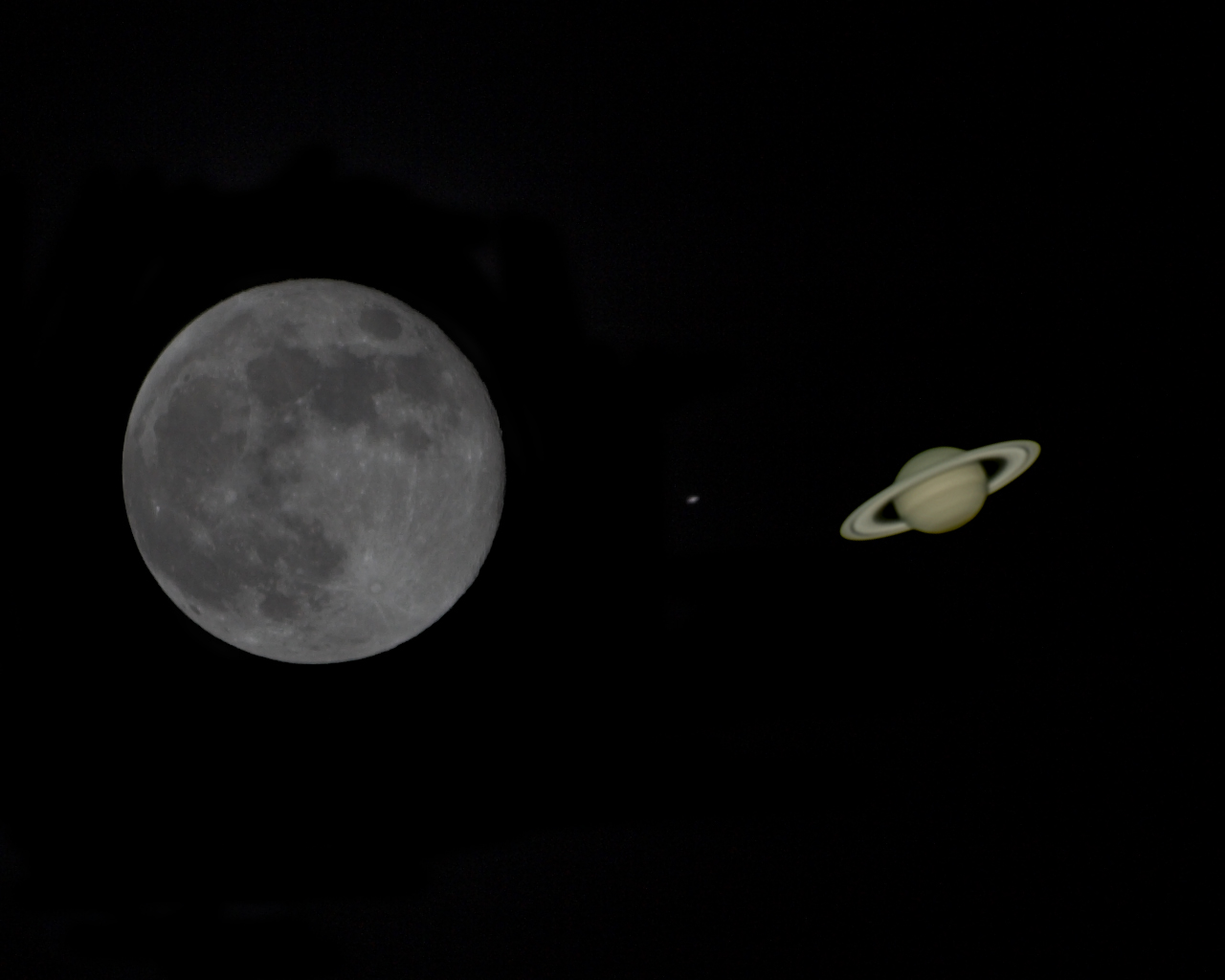 Moons of Saturn by Size - Pics about space