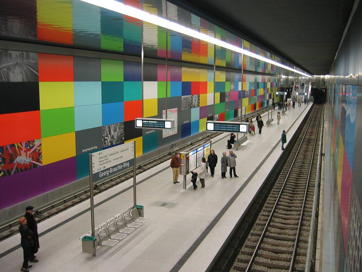 Münih Şehir İçi Ulaşım