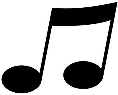 Afbeeldingsresultaat voor muzieknoot
