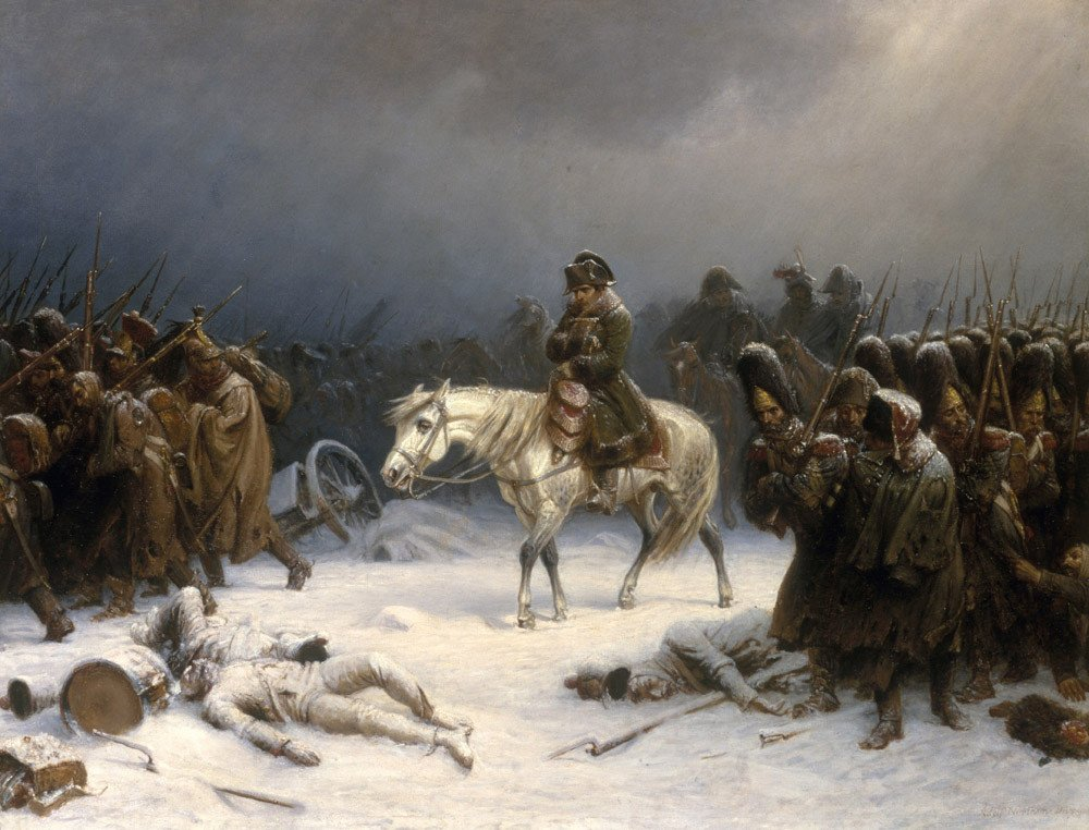 Fichier:Napoleons retreat from moscow.jpg