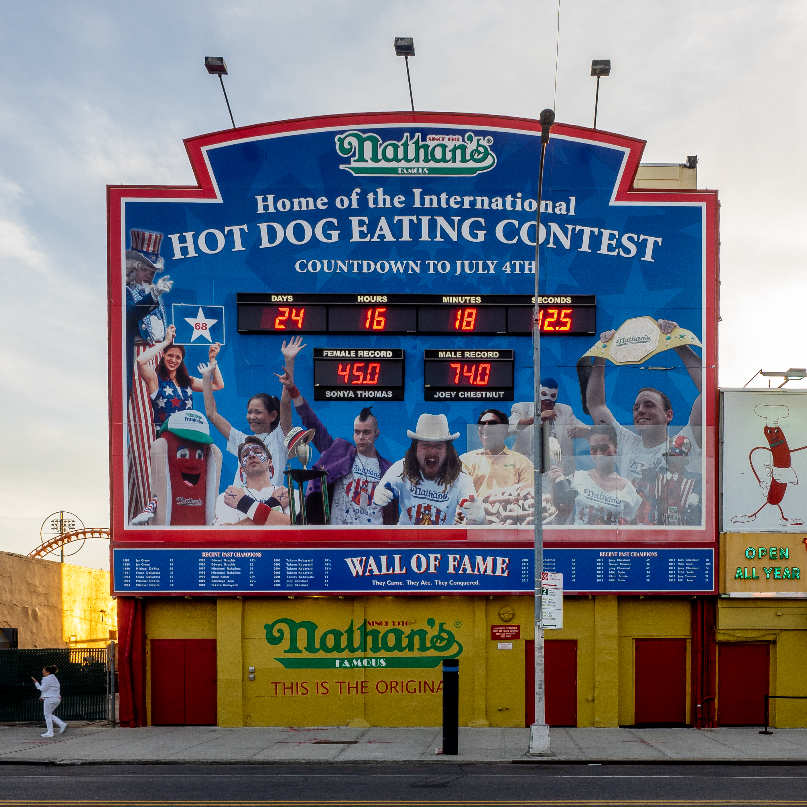 Nathan S Hot Dog Eating Contest Wikipedia