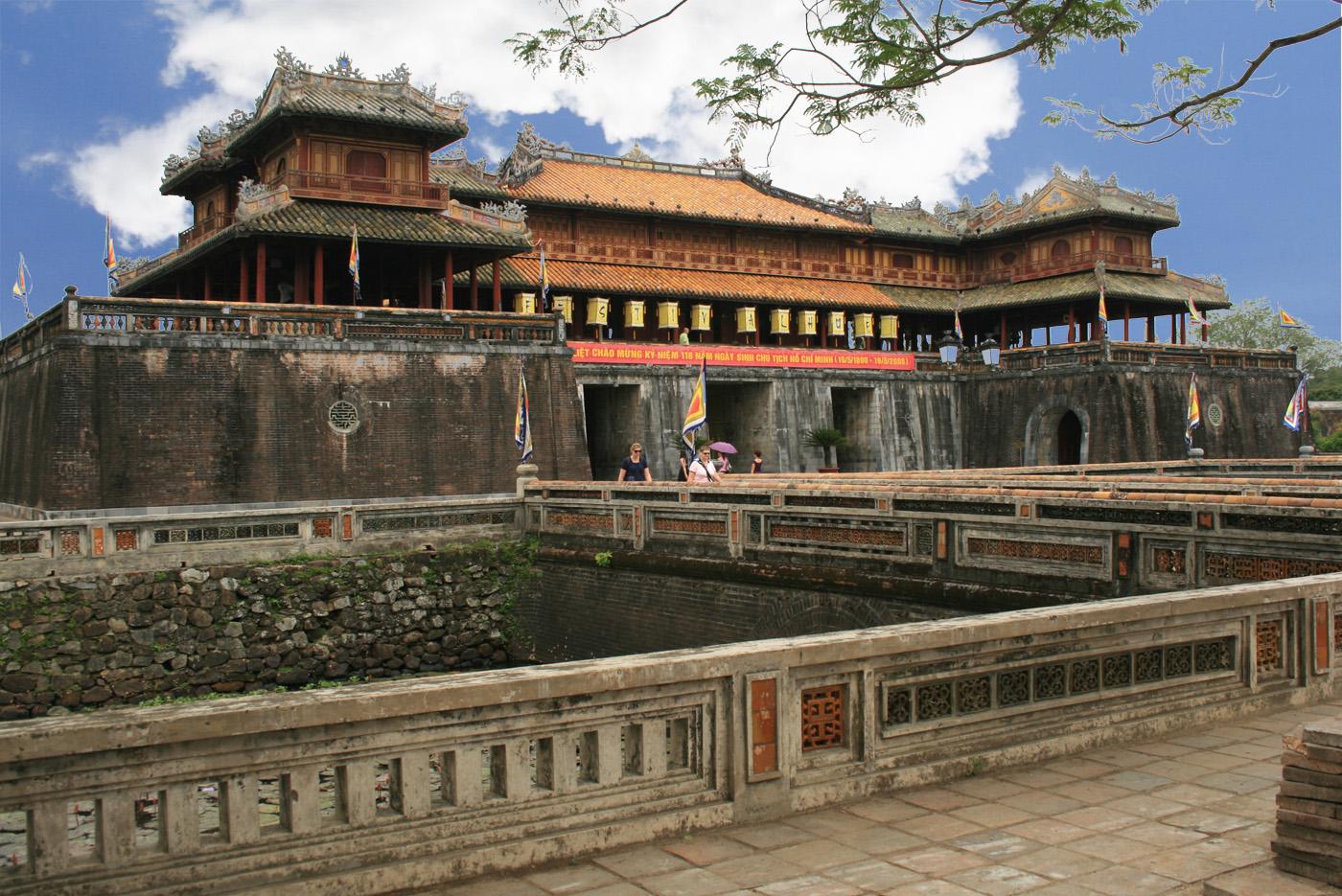 Hoàng Thành là vòng thành thứ hai bên trong kinh thành Huế.