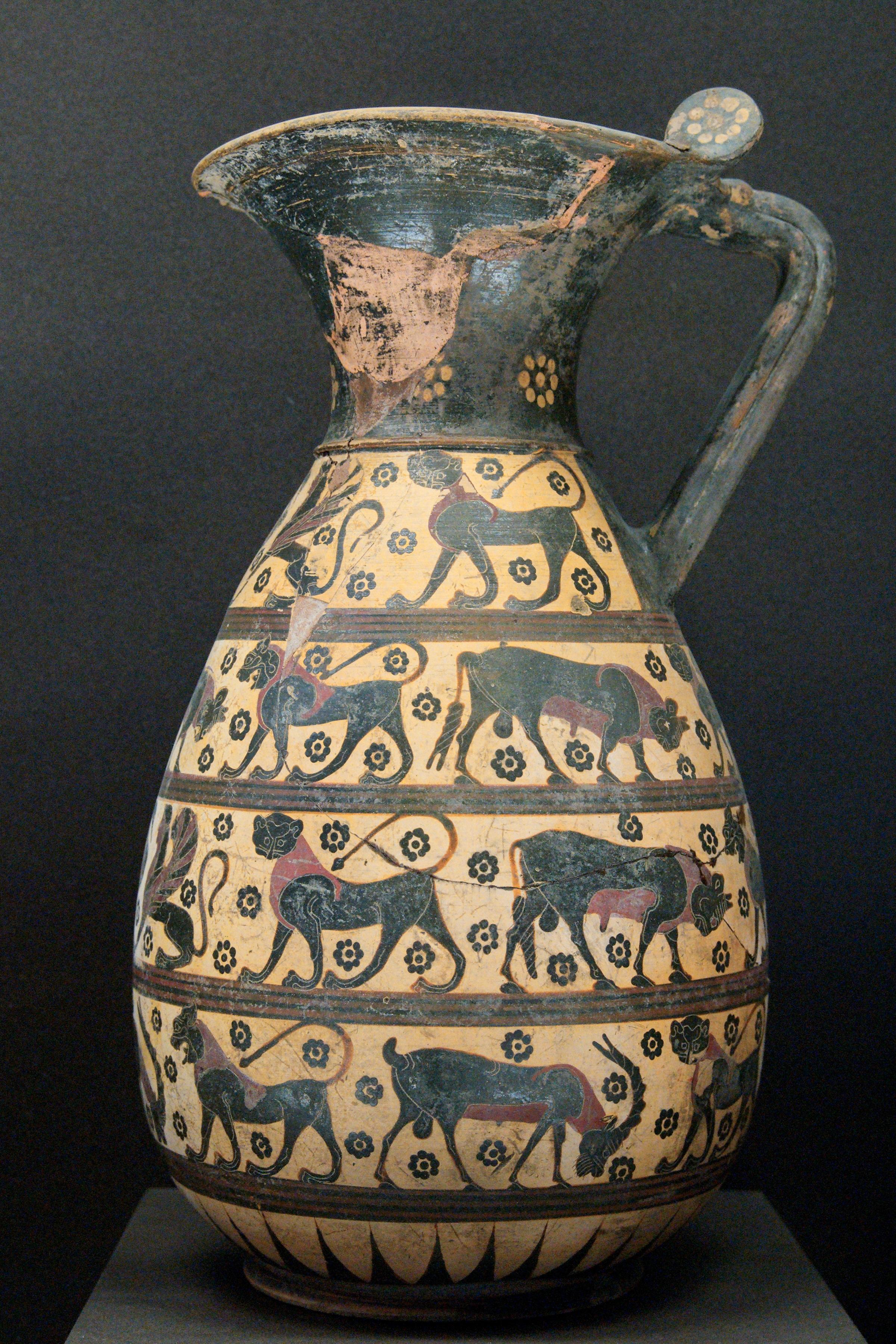 Decorazioni Dei Vasi Greci.Ceramica Greca Wikipedia