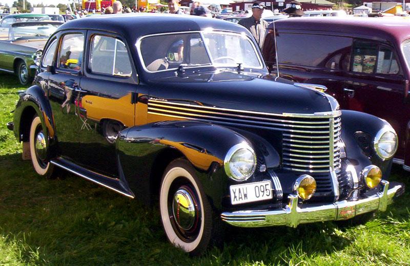 File Opel Kapitan 4 Door Sedan 1950 Jpg Wikimedia Commons