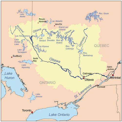 Canadian Trio II A OttawaGatineau Yesterday - Where is ottawa