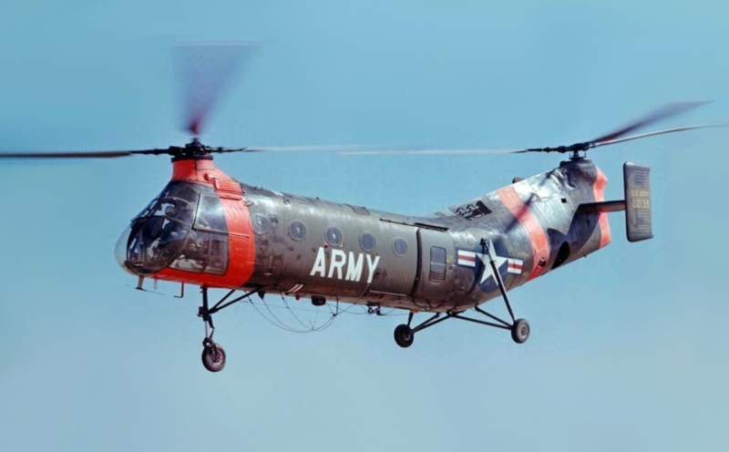Como construir um disco (ou aro) voador Piasecki_H-21_%28modified%29