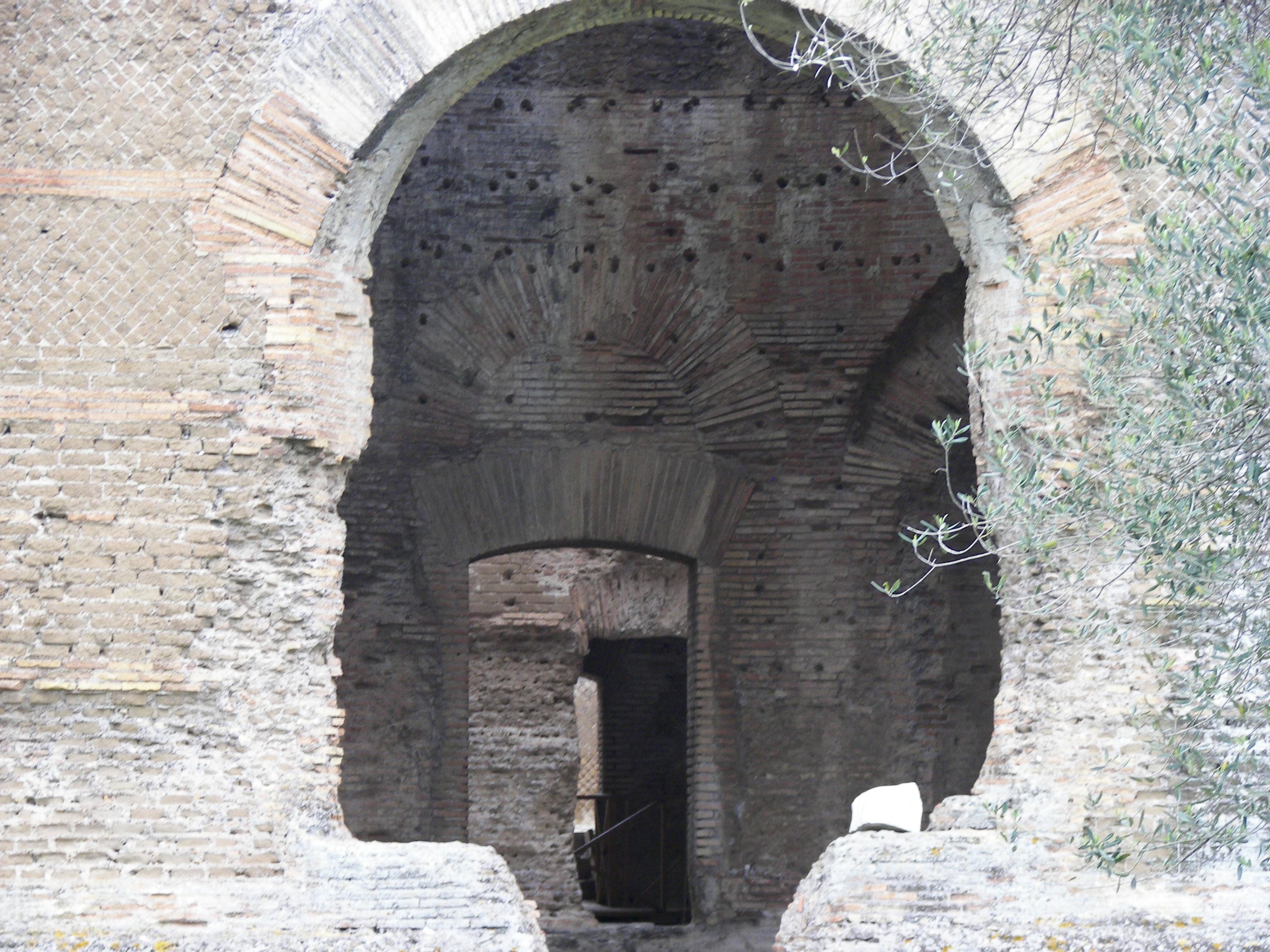 File piccole thermae of villa adriana g wikipedia