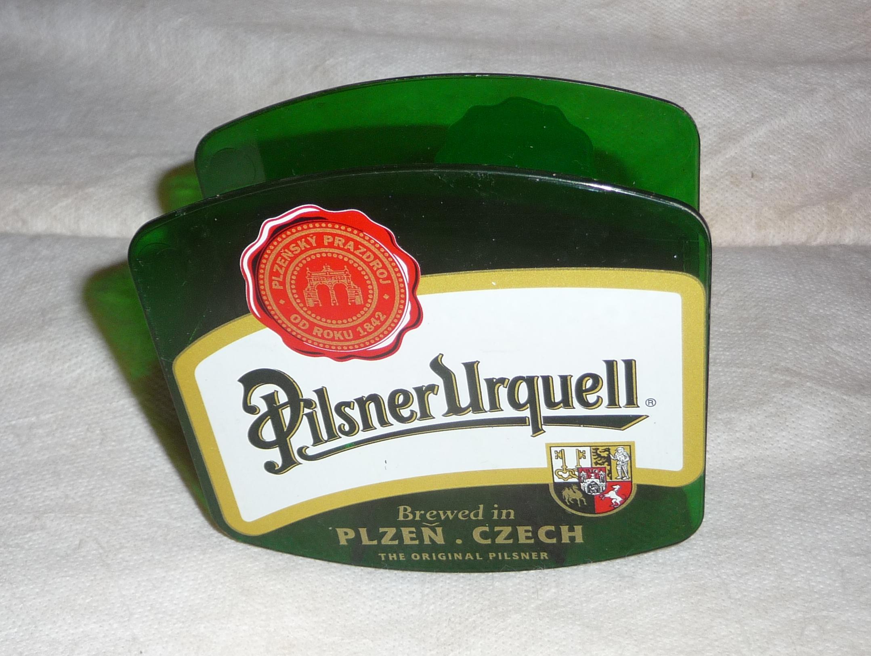 File:Pilsner Urquell beer coaster holder (2) jpg - Wikimedia Commons