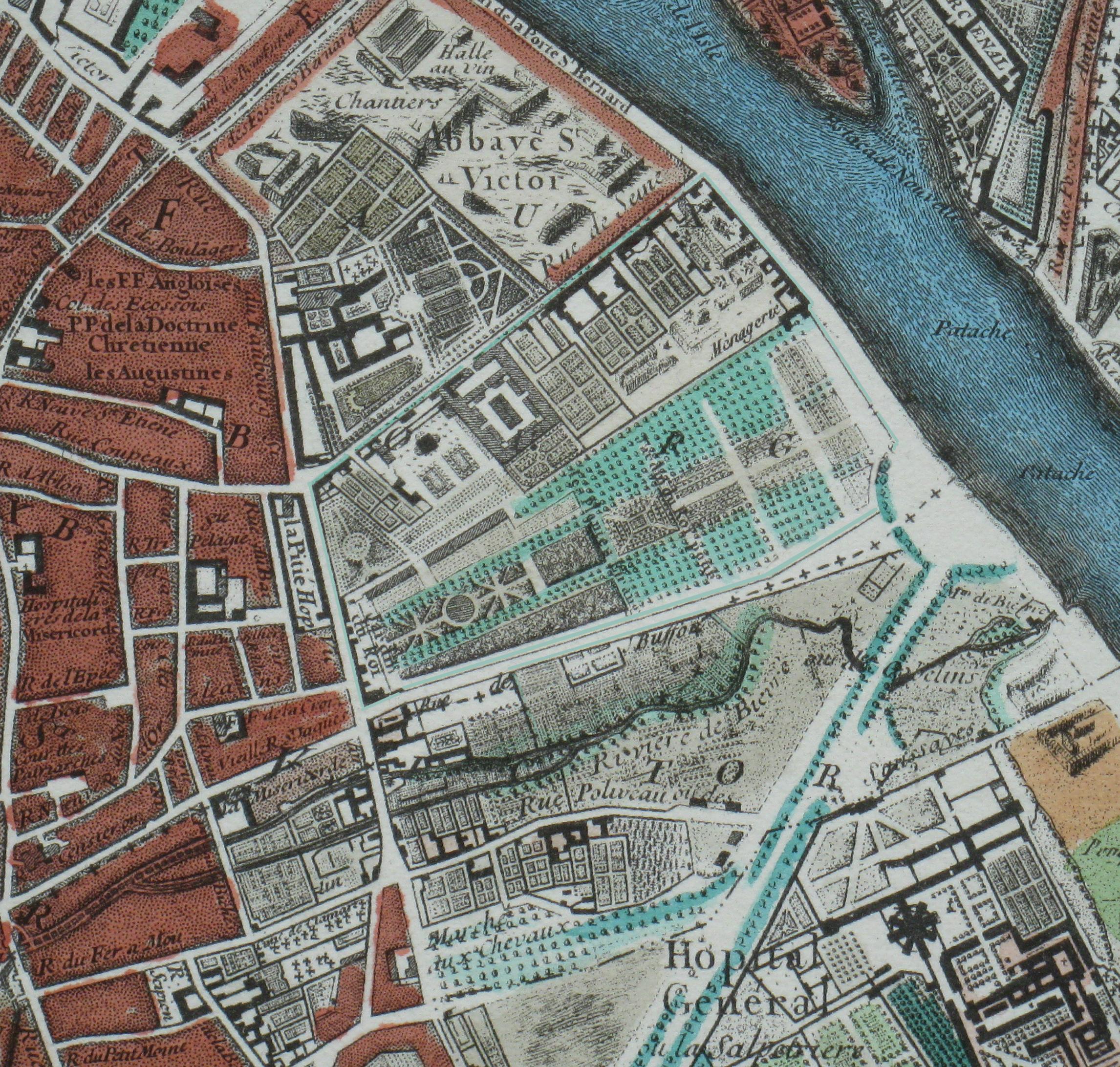 Datei plan du jardin des plantes mus um national d for Histoire des jardins wikipedia