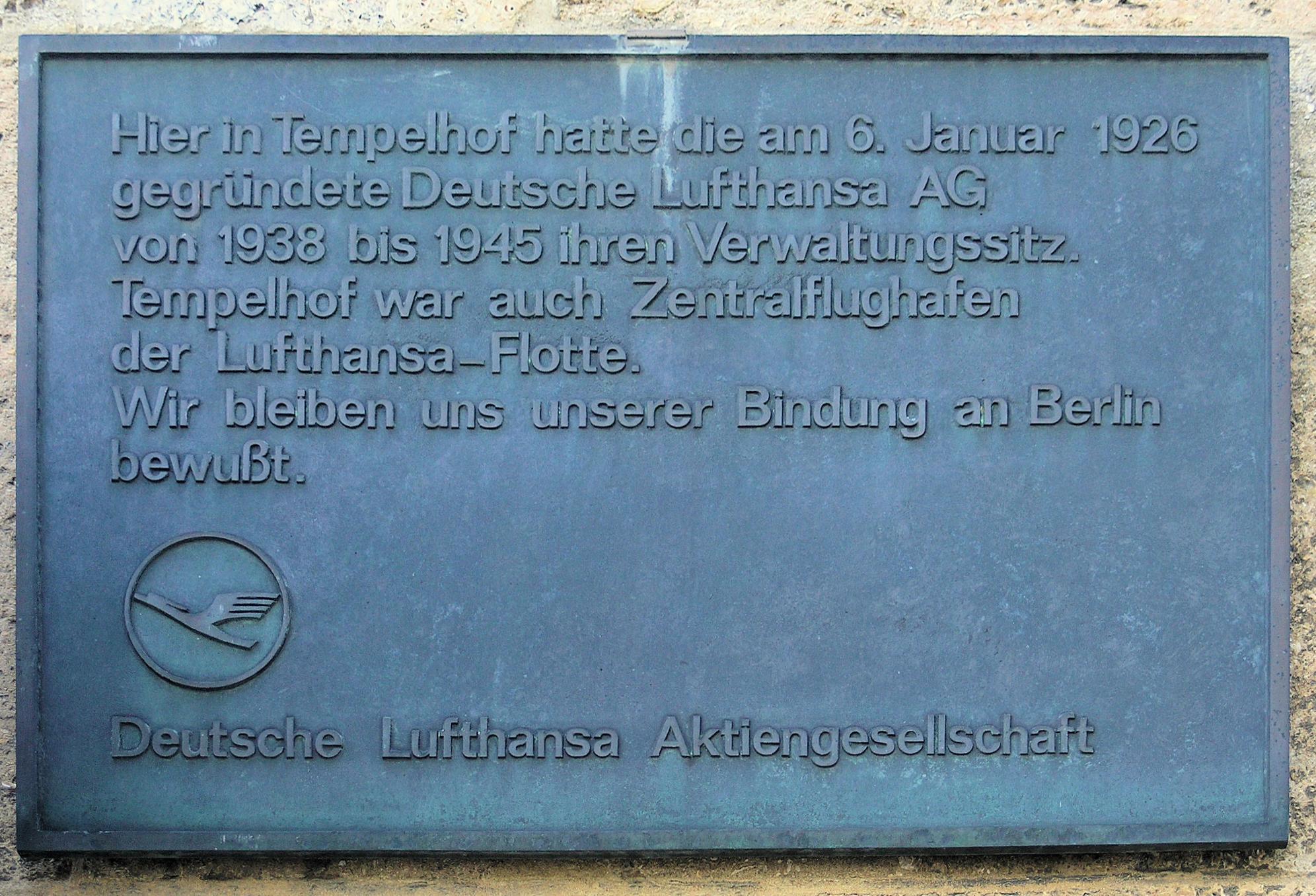 Geschichte Der Lufthansa Wikipedia